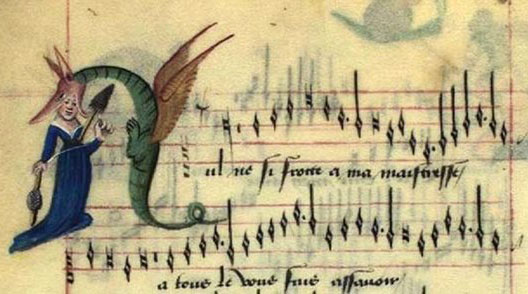 Chansonnier de Copenhague, 1470, Bibliothèque royale de Copenhague