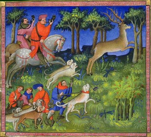 Gaston Phébus, Livre de chasse, XVe s., BNF, Paris