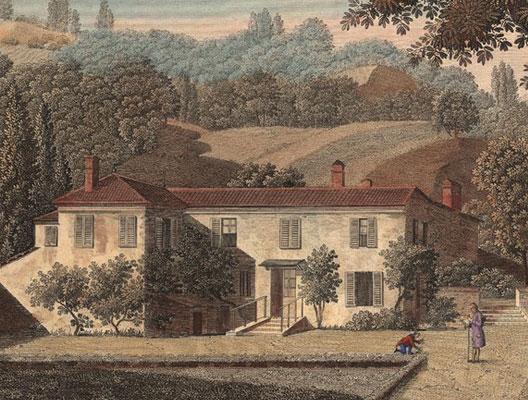 Jean-Jacques Rousseau à L'Ermitage (Montmorency)