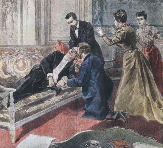 La mort de Félix Faure vue par L'Illustration (1899)