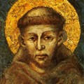 Franois d'Assise, par Cimabue
