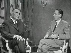 Georges Pompidou s'exprime sur le référendum, le 24 octobre 1962, INA (Institut National de l'Audiovisuel)