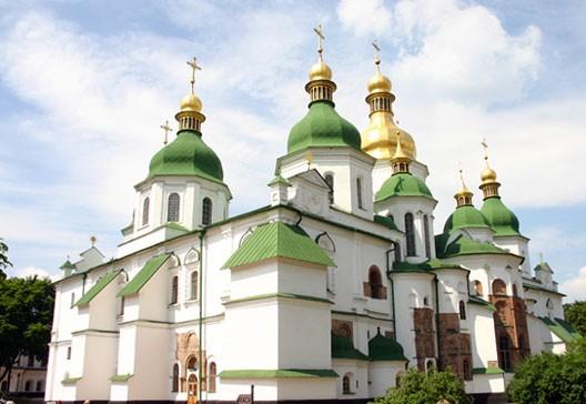 La cathédrale Sainte-Sophie (Kiev, XIe siècle), photo : Gérard Grégor