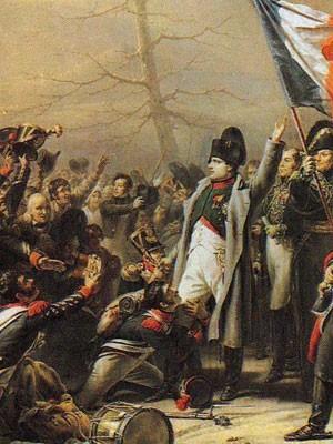 Napoléon face au 5e de ligne à Laffrey, le 7 mars 1815