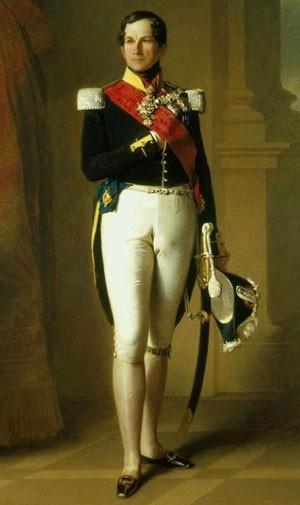 Léopold 1er de Belgique (1790-1865) (Franz-Xavier Winterhalter, 1846)