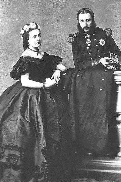 Marie-Henriette d'Autriche et Léopod de Belgique