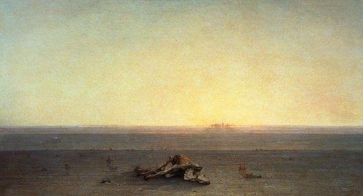 Gustave Guillaumet, Le Sahara, 1867, Paris, musée d'Orsay