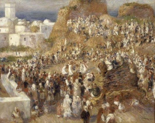 Auguste Renoir, La Mosquée ou Fête arabe, 1881, Paris, musée d'Orsay