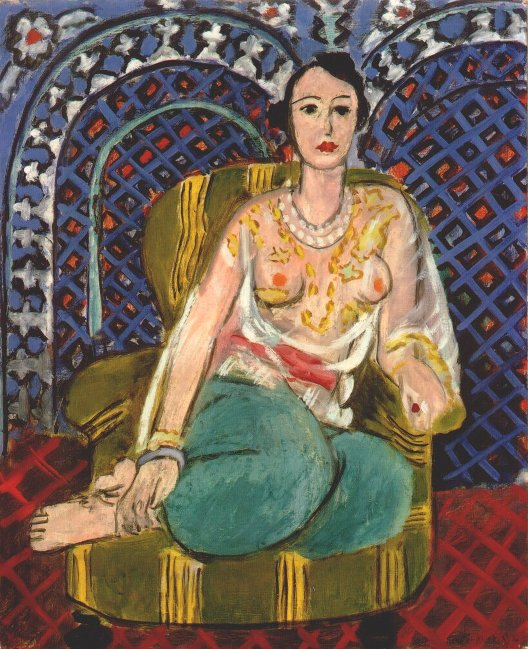 Henry Matisse, Odalisque assise, 1926, New York, Metropolitan museum of Art
