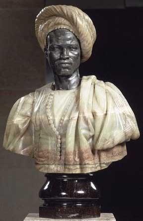 Charles Cordier, Nègre du Soudan dit aussi Nègre en costume algérien, entre 1856 et 1857, Paris, musée d'Orsay