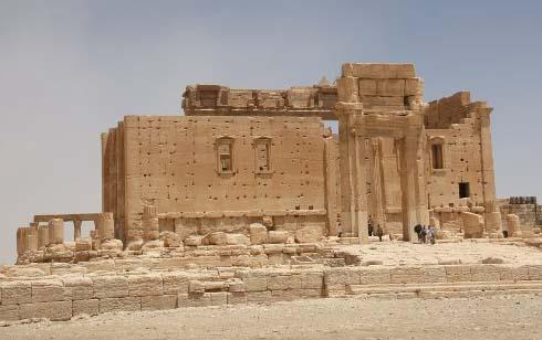 Le petit temple de Baal (Palmyre, Syrie), photo : Gérard Grégor, 2009