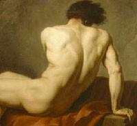 Jacques-Louis David, Academie d'homme dit Patrocle, 1780, Cherbourg, musee Thomas Henry (Cherbourg)