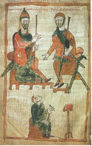 Charlemagne : l'empereur du renouveau occidental Pepin2