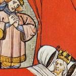 Mort de Philippe le Bel (Chroniques de France,  XVe siècle, BNF)