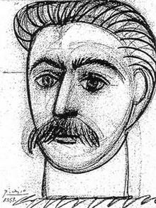 Pablo Picasso, Portrait de Staline, 1953 (DR)