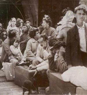 L'exode des pieds-noirs d'Algérie (été 1962)