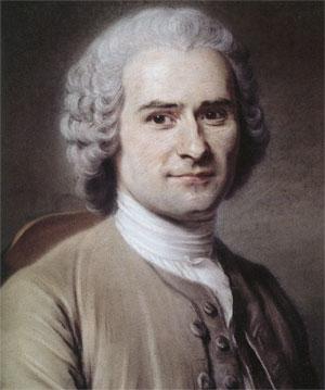 Jean-Jacques Rousseau (1712-1778), pastel par Quentin de La Tour, 1752