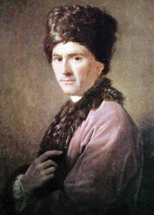 Jean-Jacques Rousseau à 54 ans (Allan Ramsay)