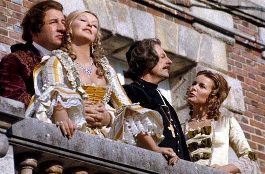Que la fête commence, film de Bertrand Tavernier, avec Philippe Noiret, Marina Vlady, Jean Rochefort et Monique Lejeune (1975)