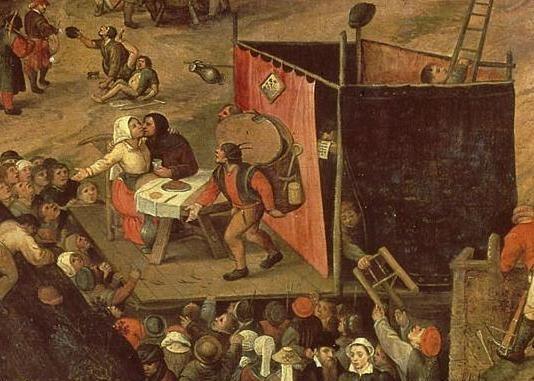 Pieter Balten, La Foire paysanne (détail), 1540-1598, Rijksmuseum, Amsterdam