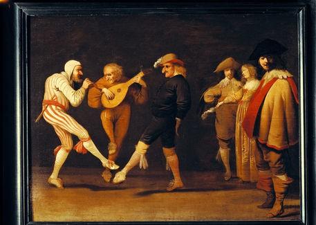 Pieter Jansz Quast, Farceurs Dansants, XVIIe s., Paris, Comédie Française