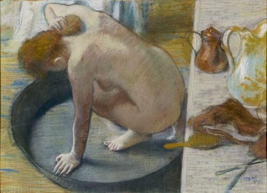 Edgar Degas, Le Tub, 1886, Paris, musée d'Orsay