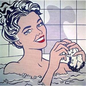 Roy Lichtenstein, Femme dans son bain, 1963, Madrid, musée Thyssen Bornemisza.