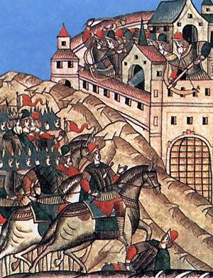 Prise de Moscou par le khan Tokhtamysh, 26 août 1382