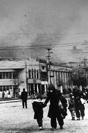 Bombardement de Tokyo le 19 mars 1945 (80.000 morts)