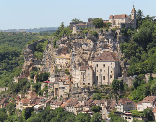 Vue du village de Rocamadour, photo : Gérard Grégor
