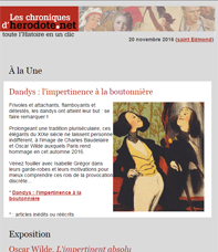 Les Chroniques d'Herodote.net