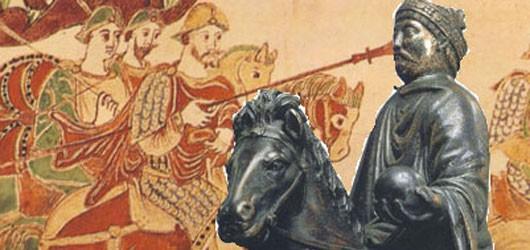 Le 28 janvier 814 mourait l'empereur Charlemagne.<br /><br />Peu d'hommes ont comme lui pesé sur l'Histoire...<br /><br />Pour en savoir plus: <br />cliquez sur l'image