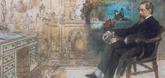 Mauvaise conscience de l'Angleterre victorienne, le romancier Charles Dickens a vu  le jour le 7 février 1812, à Portsmouth...<br /><br />En savoir plus: <br />cliquez sur l'image