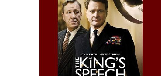 <em>Le discours d'un roi</em>  montre le futur roi d'Angleterre George VI en lutte contre son bégaiement.<br /><br />En arrière-plan une situation internationale pleine de menaces...<br /><br />En savoir plus: <br />cliquez sur l'image