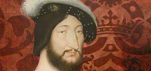 1er janvier 1515 : François 1er (19 ans) succède  à son cousin sur le trône de France.<br /><br />C'est le début d'un règne flamboyant: guerres inutiles, révoltes et floraison artistique...<br /><br />En savoir plus: <br />cliquez sur l'image
