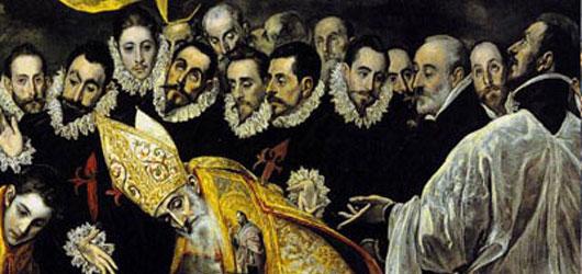 Il y a 400 ans disparaissait El Greco. Contemporain de Cervantès, il reflète dans ses œuvres austères et maniérées l'Espagne de Don Quichotte...<br /><br />En savoir plus: <br />cliquez sur l'image