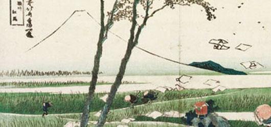 Hokusai s'expose à Paris.<br /><br />Ses dessins ont bouleversé les Impressionnistes, sa Grande vague est devenue la Joconde de l'art japonais,<br /><br />Retour sur le