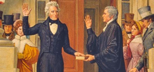 Novembre 2016 : Andrew Jackson est le premier président des États-Unis d'extraction modeste. Homme de l'Ouest, avocat autodidacte d'une honnêteté scrupuleuse, il s'apparente par là à Abraham Lincoln. Mais c'est aussi un self made man impétueux et même brutal....<br /><br />En savoir plus : <br />cliquez sur l'image
