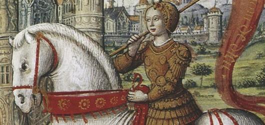2012 s'ouvre sur le 600e anniversaire de Jeanne d'Arc.<br /><br />«Quelle légende plus belle que cette incontestable histoire ?» s'extasie l'historien Michelet.<br /><br />En savoir plus: <br />cliquez sur l'image