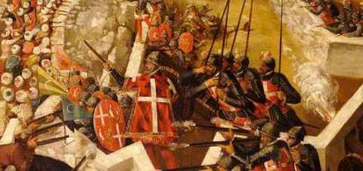 13 septembre 1565: fin du Grand Siège de Malte par les Turcs, après quatre mois de combats acharnés de la part des moines-chevaliers...<br /><br />En savoir plus: <br />cliquez sur l'image