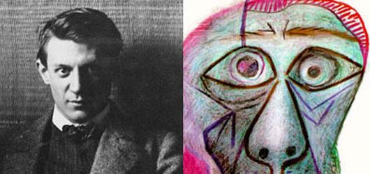 Le 8 avril 1873, est mort Picasso, peintre emblématique du XXe siècle.<br /><br />Nous lui devons notre manière de voir...<br /><br />En savoir plus: <br />cliquez sur l'image