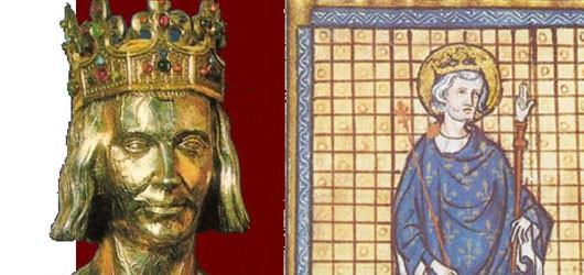25 avril 1214 : à Poissy, Blanche de Castille donne le jour au futur Saint Louis.<br /><br />Son long règne marque l'apogée de la France médiévale et de la chrétienté occidentale.<br /><br />En savoir plus: <br />cliquez sur l'image