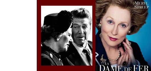 Contrairement aux apparences, <em>La Dame de Fer</em> (The Iron Lady, 2011) est un film qui n'a rien à voir avec Margaret Thatcher, Premier ministre britannique de 1979 à 1990...<br /><br />Pour en savoir plus: <br />cliquez sur l'image