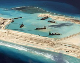 Tensions belliqueuses en mer de Chine