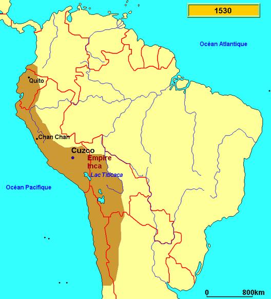 L'Amérique andine des origines à Pizarre