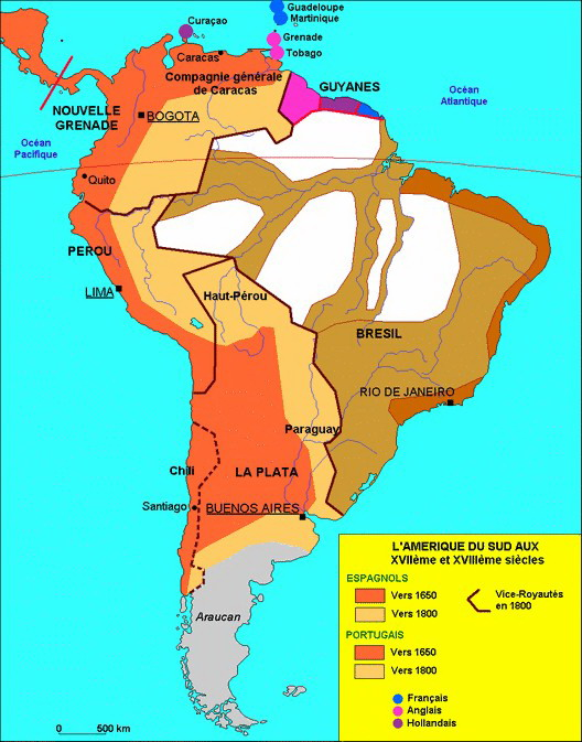 Les indépendances latino-américaines