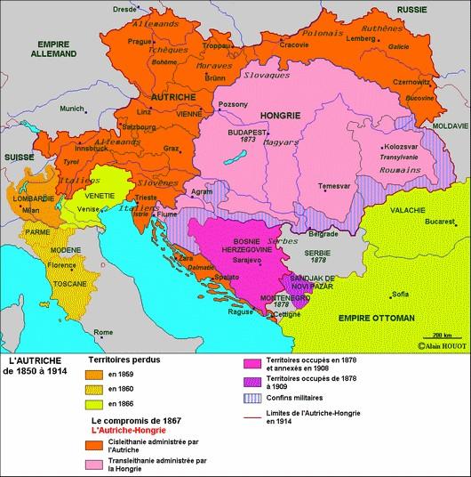 De l'Autriche à l'Autriche-Hongrie