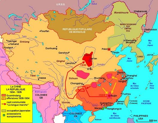 De la dynastie mandchoue à la République populaire