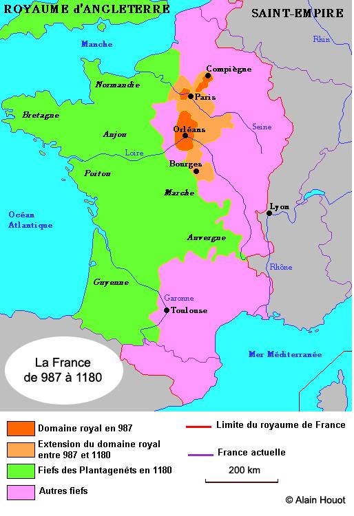 La France des premiers rois capétiens
