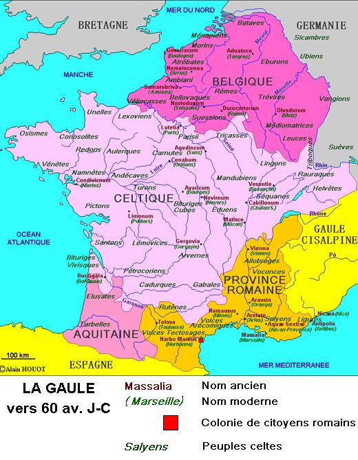 La Gaule à la veille de la conquête romaine